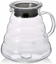 800ml Clear Glass Range Coffee Server,Standard