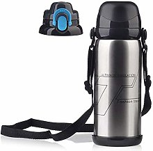 800ML Travel Sport Water Bottle Thermo Mug