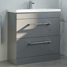 800mm Bathroom Vanity Unit Basin Drawer Cabinet