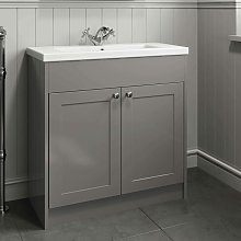800mm Bathroom Vanity Unit Basin Sink Cabinet