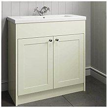 800mm Bathroom Vanity Unit Basin Storage Cabinet