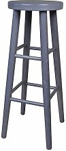 80cm Bar stool Marlow Home Co. Colour: Grey