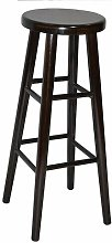 80cm Bar stool Marlow Home Co. Colour: Walnut