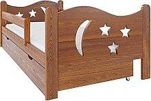 (80x160 cm, Oak) NeedSleep® Fall Protection