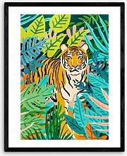 83 Oranges - 'Only' Tiger Framed Print, 52