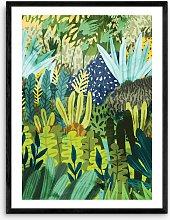 83 Oranges - 'Wild Jungle' Framed Print,