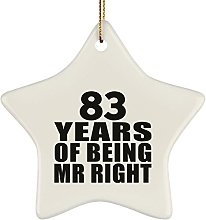 83rd Anniversary 83 Years Of Being Mr Right - Star