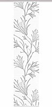 84059 | Sliding Curtain Coral Digital Print on
