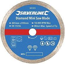 85mm Mini Diamond Circular Saw Blade –Continuous