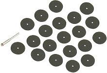 868702 Rotary Tool Cutting Disc Set 36pce 22mm Dia