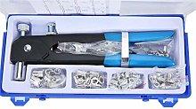 86pcs/set Hand Riveter Nut Rivet Gun Tool Kit