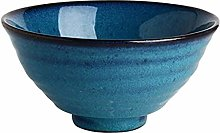 86XH Bowl Ceramic Bowl Copper Green 18x9cm Noodles