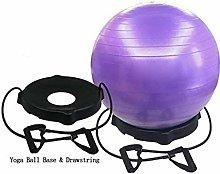 86XH Yoga Ball Chair,Exercise Yoga Ball with Base