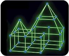 87/100pcs Build Your Own Den Kit - Childrens Play