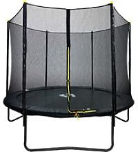 8ft Powder Coated Trampoline with Safety Enclosure