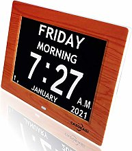 8inch Extra Large Impaired Vision Digital Calendar