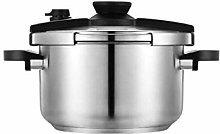 8L commercial pressure soup pot Stainless steel