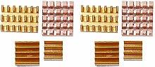 8Pcs Aluminum Heat Sink Copper Heatsink CPU Cooler