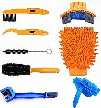 8pcs Bike Cleaning Tool Set, Bicycle Clean Brush