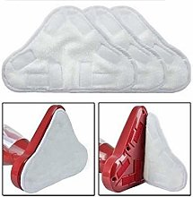 8PCS H2O 5-in-1 Triangle Washable Microfibre Steam