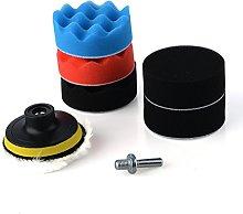 8Pcs/Set 3Inch Polishing Buffing Pad Sponge Kit