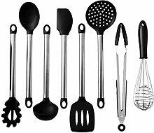 8PCS/Set Food Grade Silicone Cookware Spatula