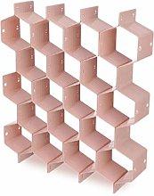 8Pcs/Set Honeycomb Clapboard Partition Divider