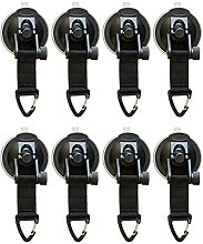 8Pcs Suction Cup Anchor Securing Hook Tie Down