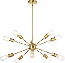 9/12/15 Light-Sputnik Chandelier, Brushed Brass