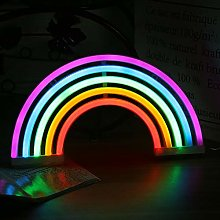 9.6W Rainbow Light Led Colorful Wall Light Battery