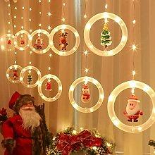 9.8Ft Christmas Curtain Fairy Lights LED Curtain