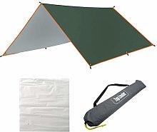 9.8x9.8 FT Rain Fly Camping Tarp Multifunctional
