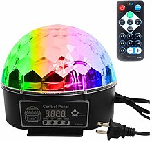 9 Colours Disco Ball Party Light Stage Light LED