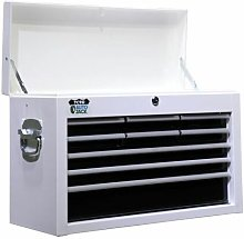 9 Drawer Metal Tool Cabinet Top Box Storage Chest