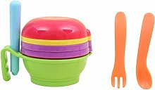 9 in 1 Food Masher Maker Portable Baby Feeder Food