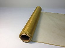 9 Metres Organza Fabric 40cm Wide Sheer Table