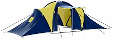 9 Person Tent Sol 72 Outdoor Colour: Blue/Yellow