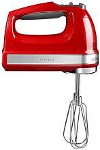 9 Speed Hand Mixer KitchenAid Colour: Empire Red