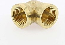 90 Deg Brass Elbow Pipe Fitting Connector, Female