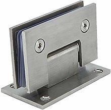 90° Glass Door Cupboard Showcase Cabinet Clamp