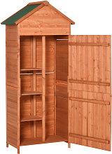 90 x 50cm Garden Shed Wood Tool Kit Storage