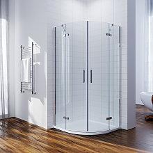 900 x 900mm Quadrant Shower Enclosure Pivot Hinge