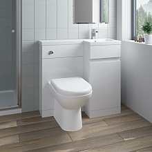 900mm Bathroom Vanity Unit Basin Sink Toilet