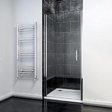 900mm Frameless Pivot Shower Door Glass Screen