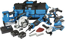 90473 D20 20V Jumbo Kit 7pcs with 2x Batteries -