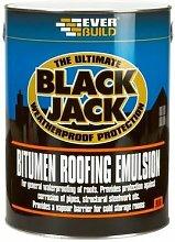90605 906 Bitumen Roofing Emulsion Black 5 Litre -