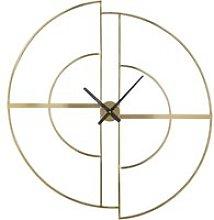 90x97cm gold metal clock