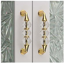 96 mm Door Handle Crystal TV Cabinet Bathroom