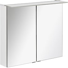 96 x 71cm Surface Mount Mirror Cabinet with LED