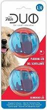 96288 - Zeus Duo Ball 6.3cm with LED 2Pk